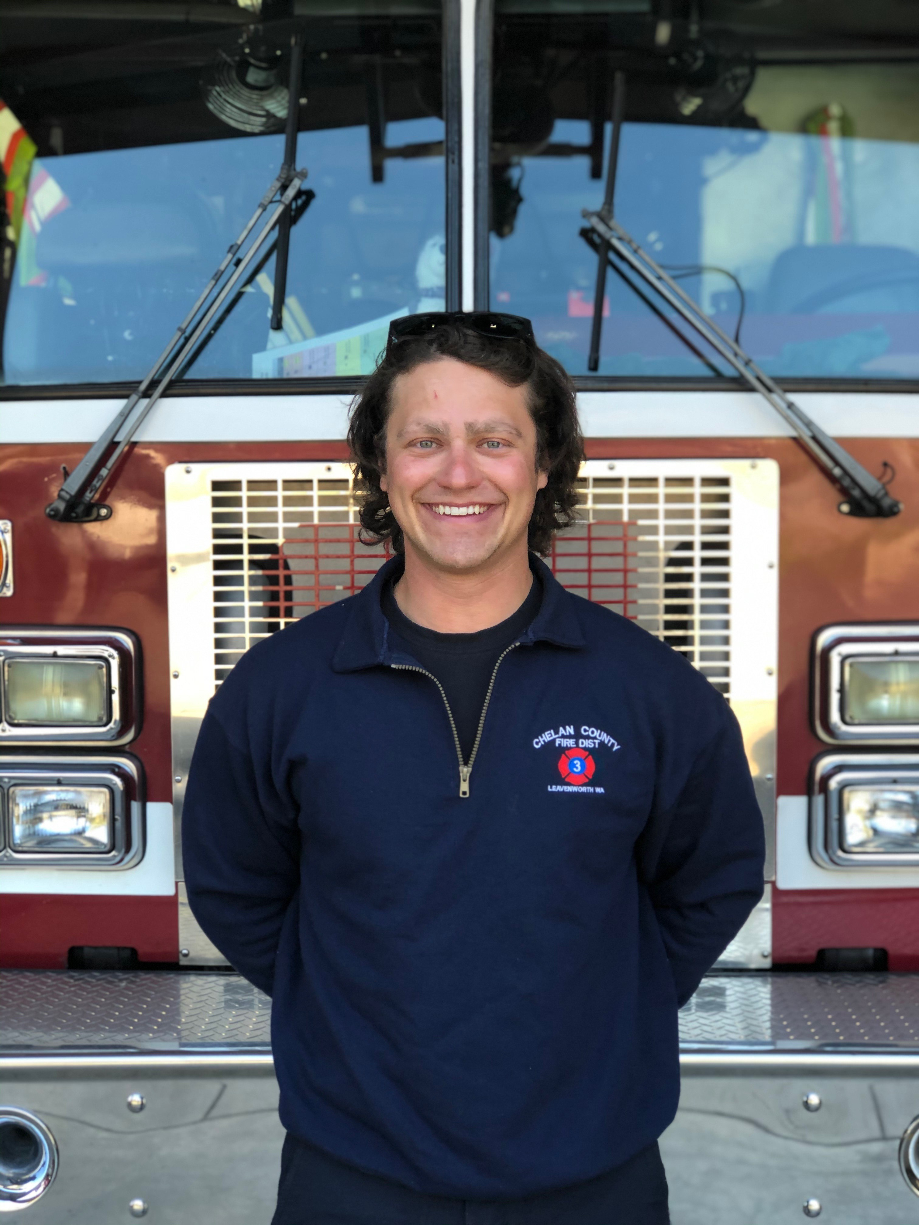 Volunteer Firefighter Cody Calhoon