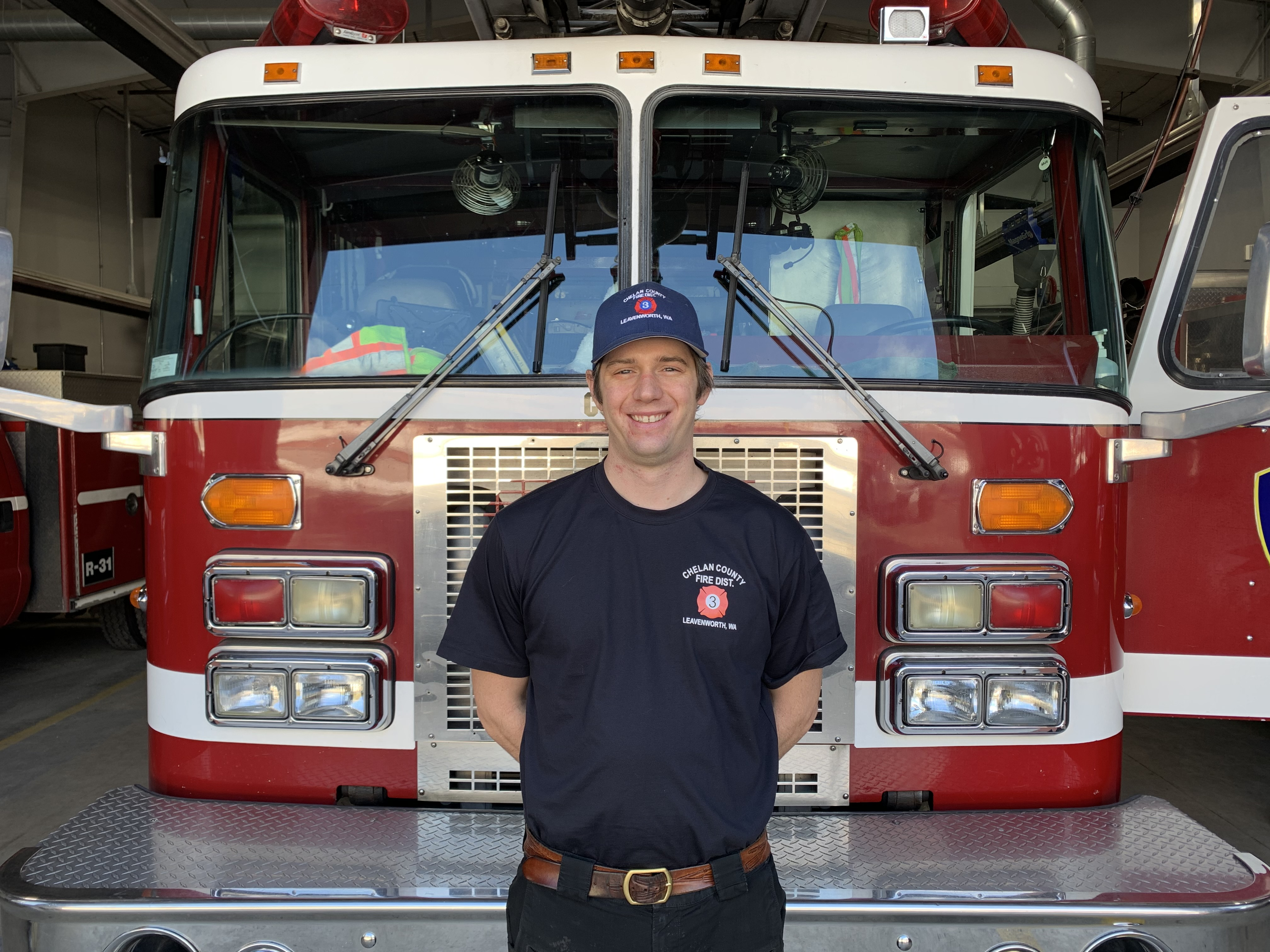 Volunteer Firefighter Danny Bachledor
