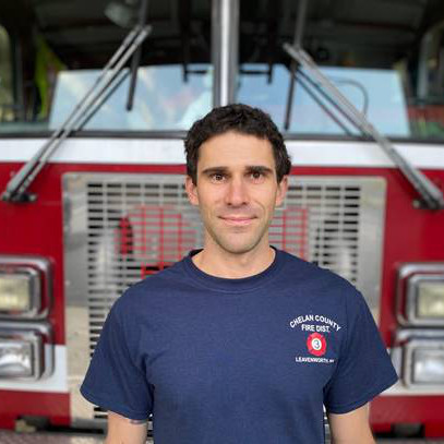 Volunteer Firefighter Nate Richman
